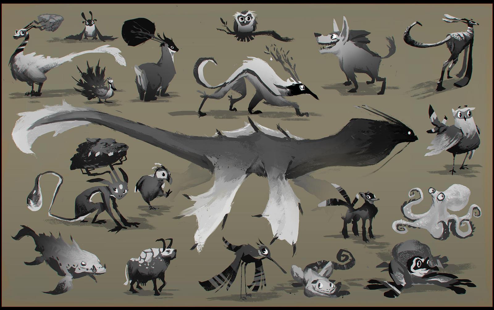 Creatures by EsbenLash