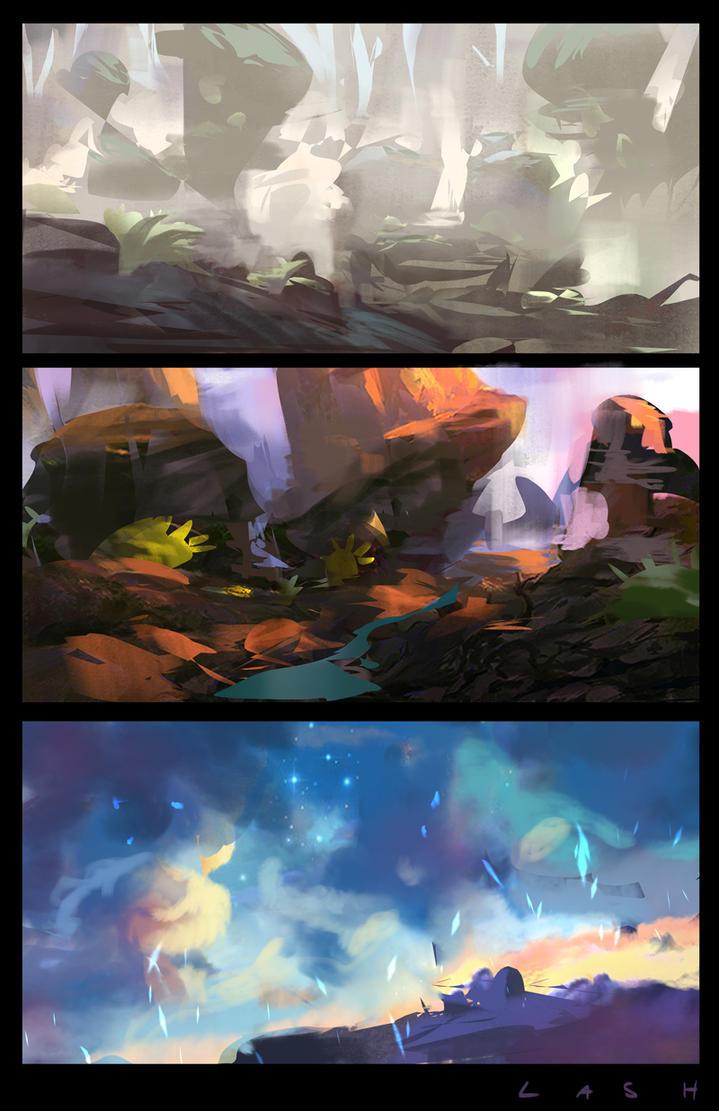 Environments by EsbenLash