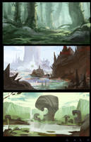 Environments 004 Lash by EsbenLash