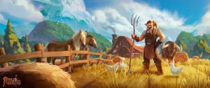 Albion Online - FARMER by EsbenLash