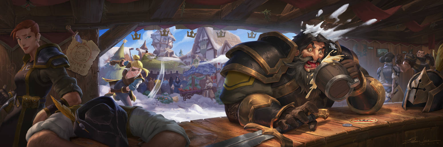 Albion Online - Snow fight! by EsbenLash