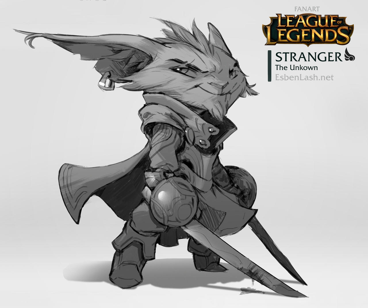 Stranger - Yordle Design by EsbenLash