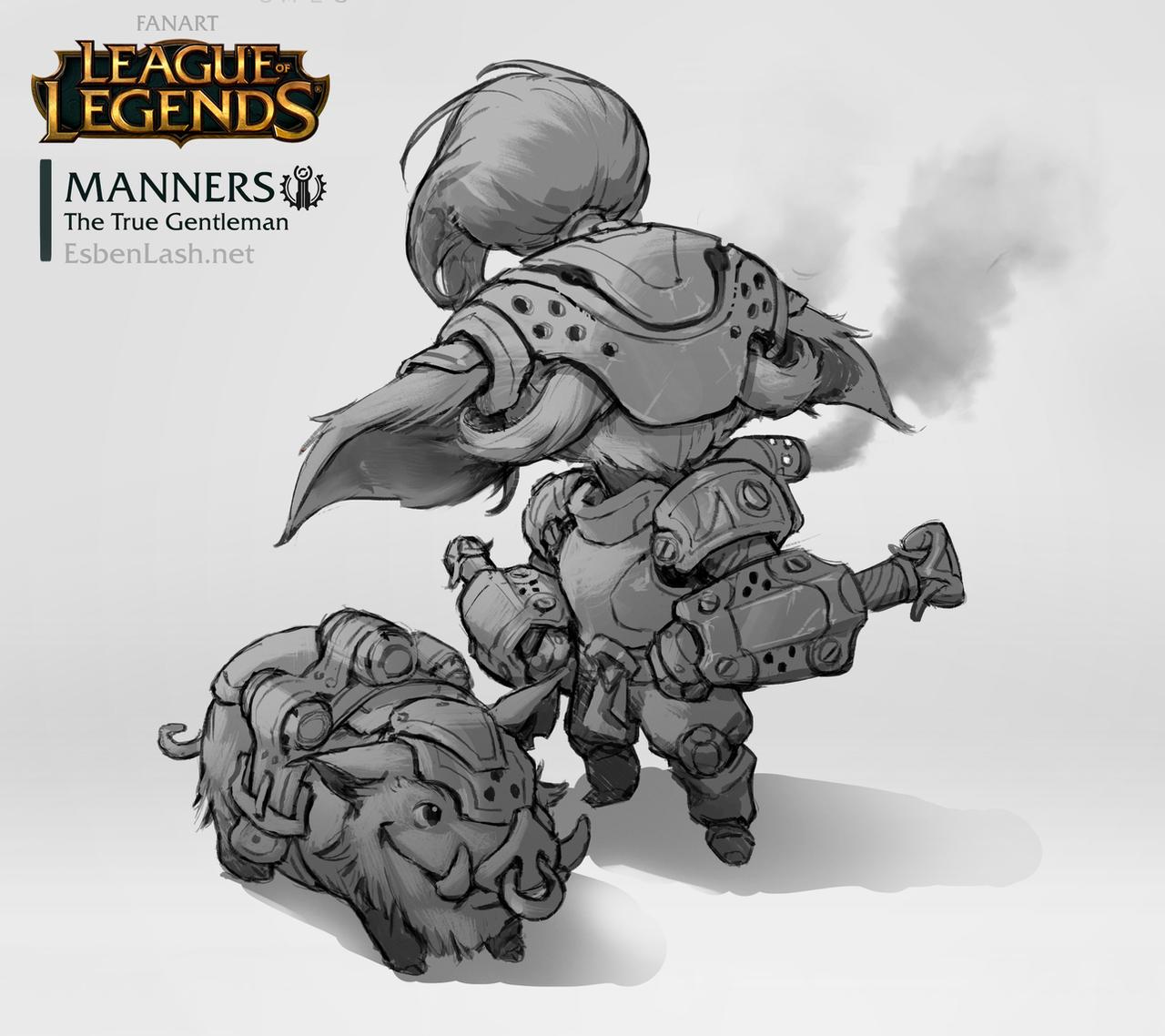 MANNERS - Yordle Design by EsbenLash