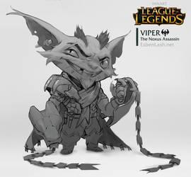Viper - The Noxus Assassin by EsbenLash