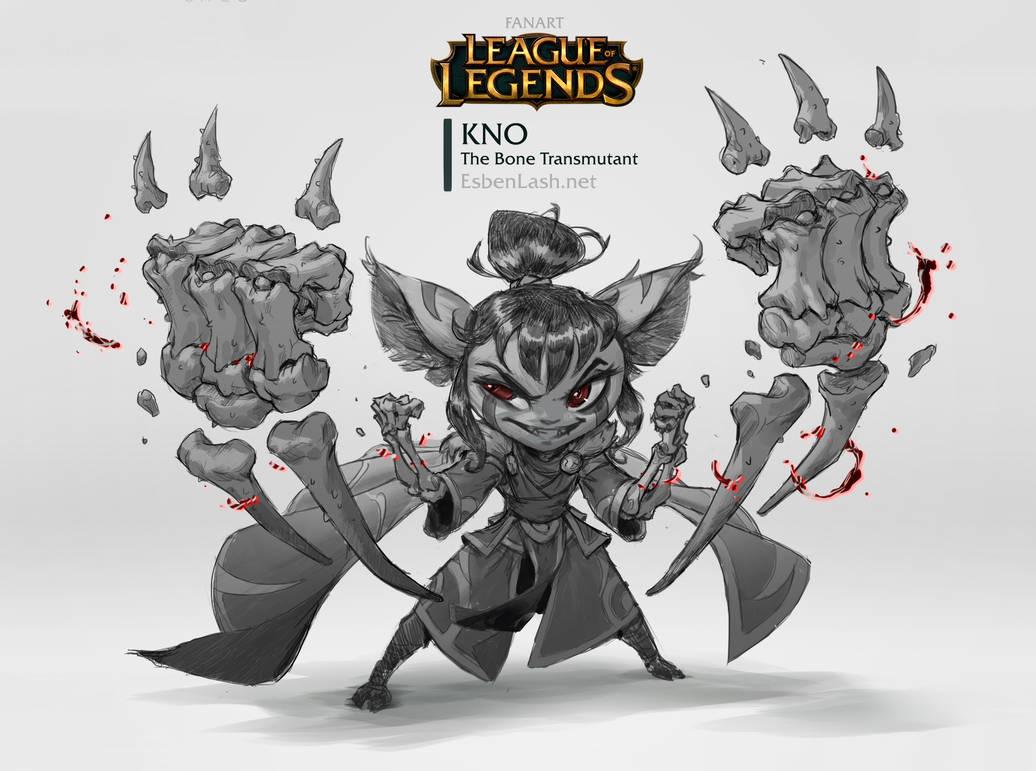Kno - The Bone Transmutant by EsbenLash