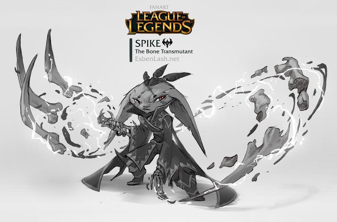 Spike - The Bone Transmutant by EsbenLash