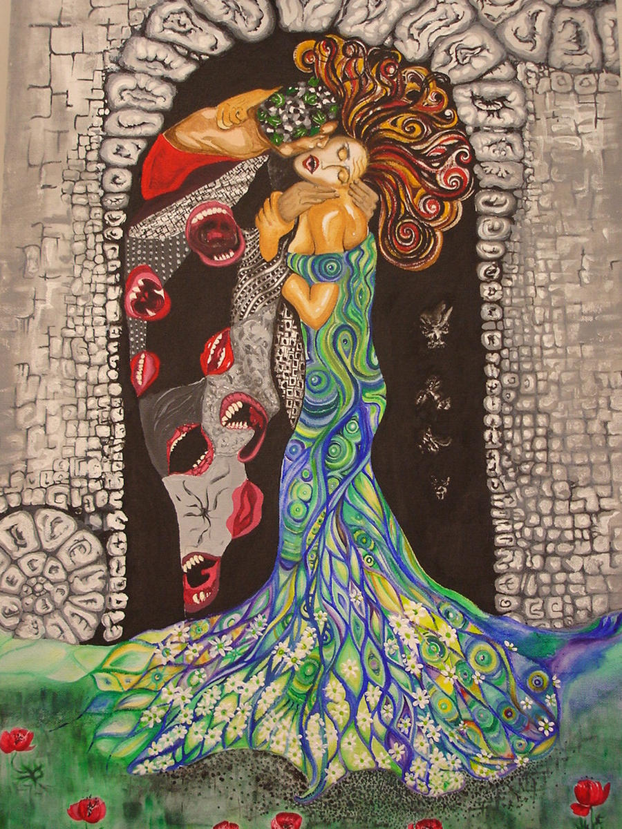 Hades with Persephone by macs0799 on DeviantArt