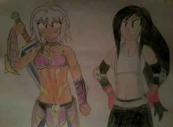 The Hottest Girls in RPG Gaming by KaigunMontoya