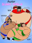 Avatar Sumo Girls by KaigunMontoya