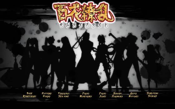 Hyakka Ryoran Samurai Girls/Bride Wallpaper