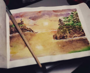 Landscape attempt by arkusz
