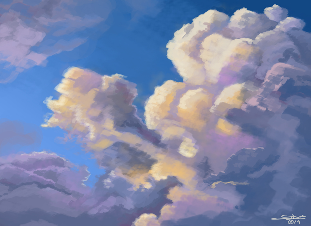 Cloudscape 1 by ink5000
