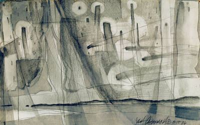 abstract 5 ascension by ink5000