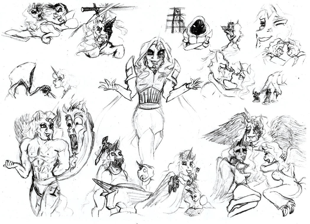 Legendbringer Character Study: Titan by HisPurpleness