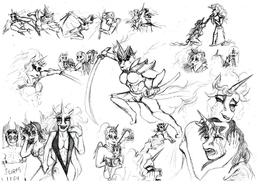 Legendbringer Character Study: Dimentia by HisPurpleness