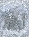 The slender man...