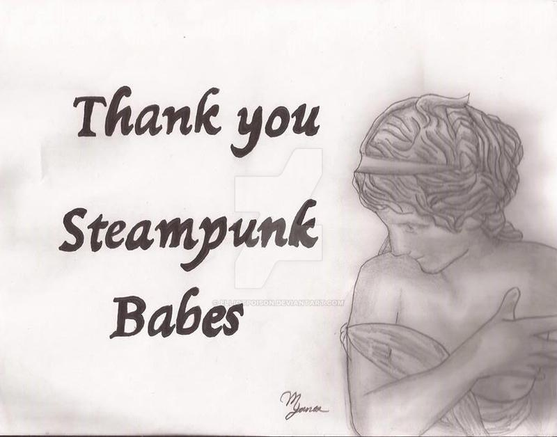 Thank you Steampunk Babes :D