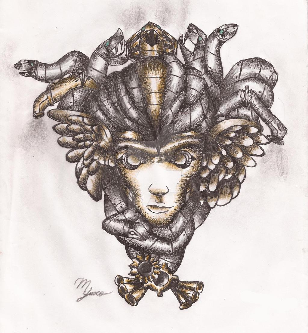 Steampunk Medusa