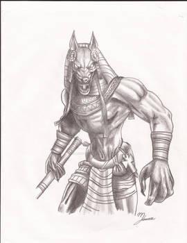 Judge of the Dead Anubis