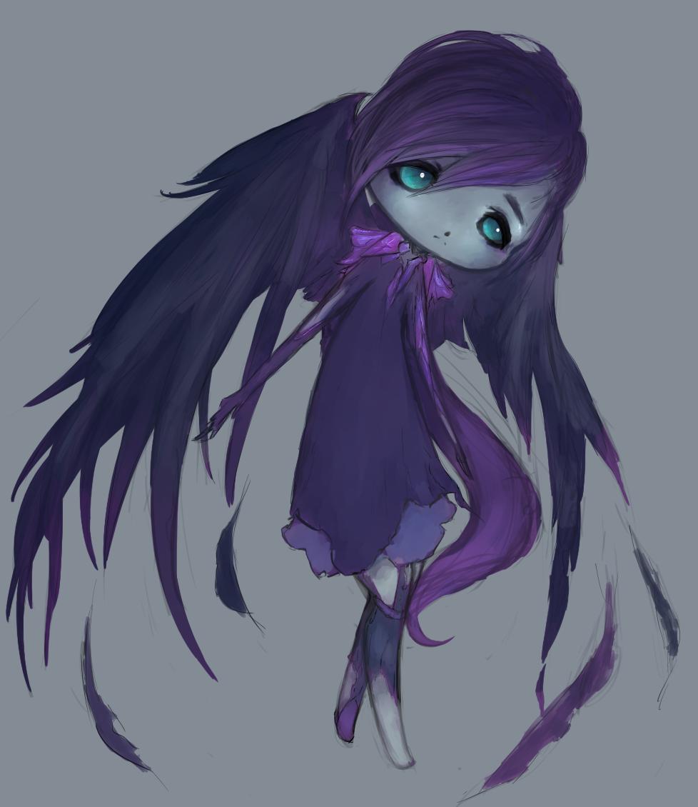 Fallen Angel by LittleGlacie