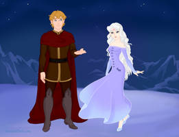 The Lady Amalthea and Prince Lir by Arimus79
