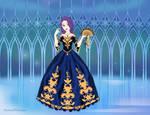 Round 5: Sapphire Ball Gown