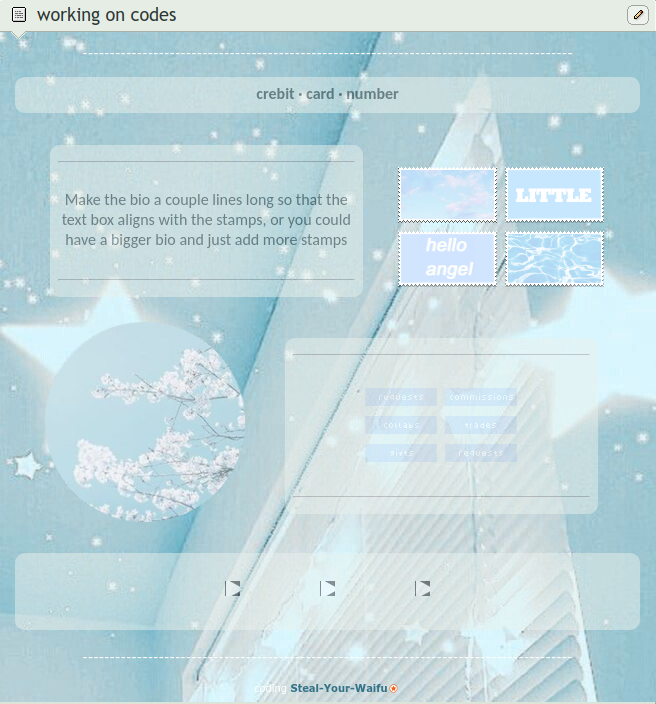 Pastel Blue Aesthetic Core Code By Steal Your Waifu On Deviantart