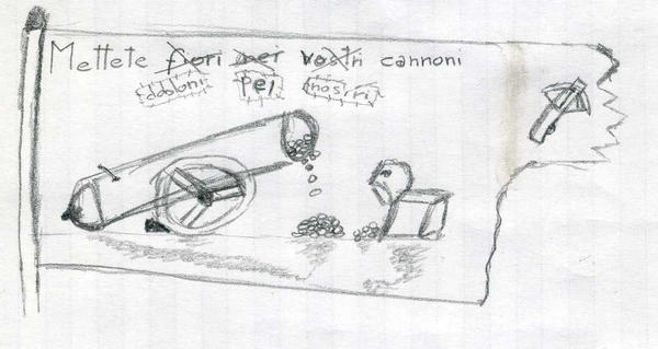 Put Doblon for our Cannons by DarkSweeper