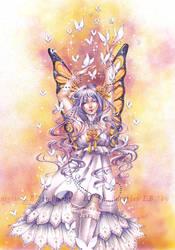 Butterfly dance by Buntglas