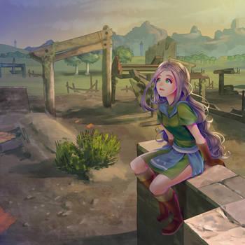 Lon Lon Ruins (COM) by HanaPiana