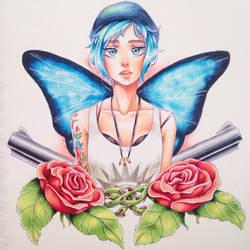 Tattoo lookin aesthetic  by HanaPiana