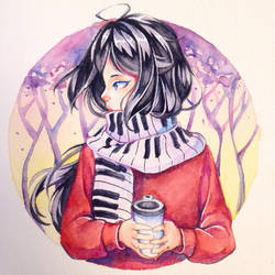 She probably doesn't even drink coffee by HanaPiana