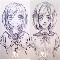 Character development lol by HanaPiana