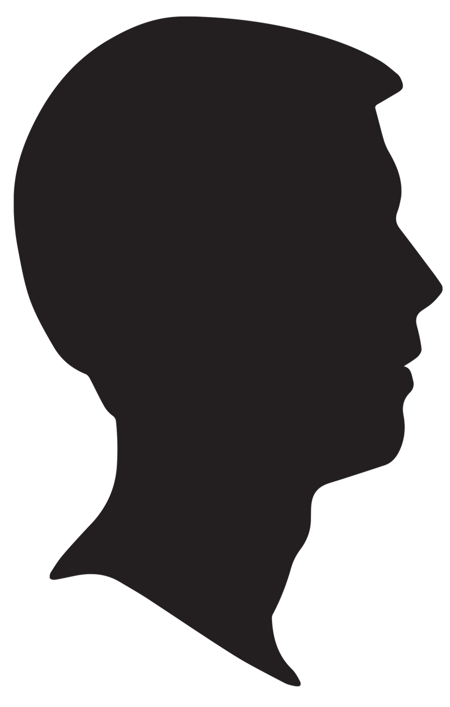 Male Silhouette Profile by snicklefritz-stock on DeviantArt   900 x 1412 png 35kB