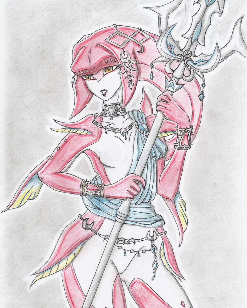 Mipha, Breath of the Wild
