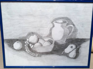 Still-Life - My Old Drawing from Middle-School