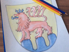 Blazon of an old German City