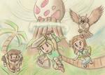 Zelda - Links Awakening Remake by SteveOdinson