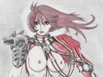 Hilde - Soul Calibur, battle damage (nsfw) by SteveOdinson