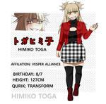 [BnHa Future AU]] Himiko Toga