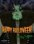 Happy Halloween Fr Big Frankie