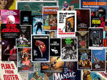 Monster Movie Posters BG