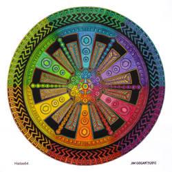 collaboration with Mandala-Jim by hadas64