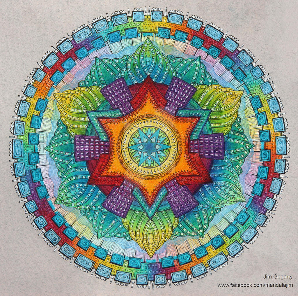 The mandala coloring book jim gogarty -  Collaborating With Jim Gogarty 2 By Hadas64