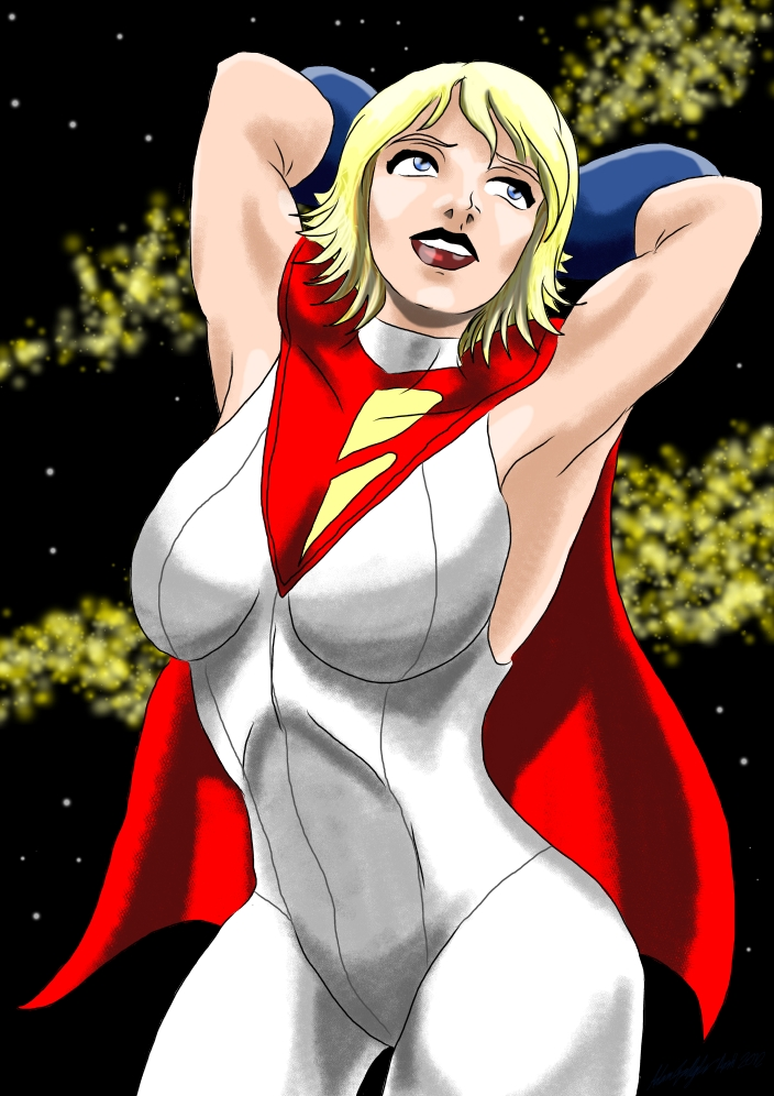 Powergirl by adamantis