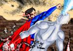 DC Civil War...Captain Atom Vs Superman