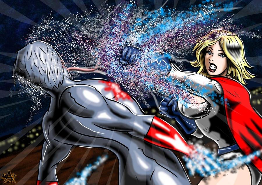 Powergirl : Dark Star (10) Freed by adamantis
