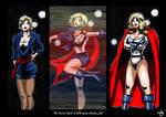 Powergirl's quick change.