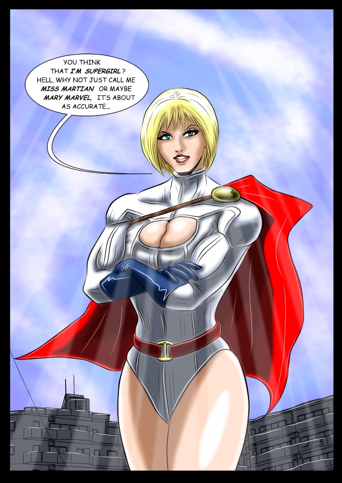 The name is Powergirl.. by adamantis