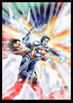 Captain Atom Vs Superman